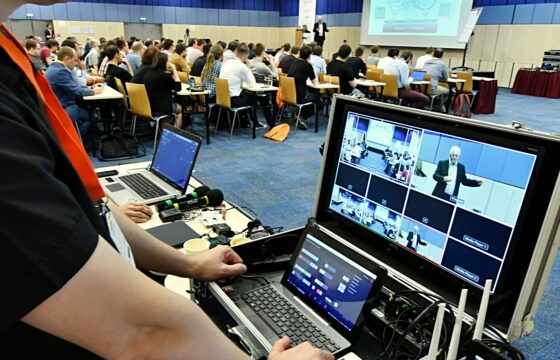 Vícekamerový live přenos z mezinárodní konference Agilia - 9. až 11.4.2018 | AVIDIS