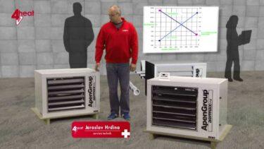 4heat – Ohřívače vzduchu Rapid plus | AVIDIS