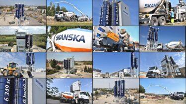 SKANSKA – Výroba, doprava a čerpání betonových směsí