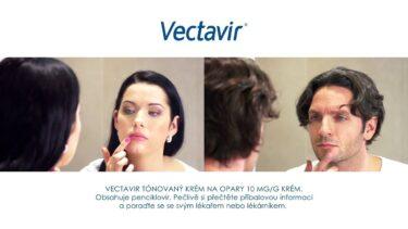 Vectavir – tónovaný krém na opary