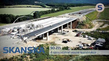 SKANSKA – stavba mostů na dálnici D1 – Přerov-Lipník nad Bečvou | AVIDIS