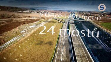 SKANSKA – Dálnice D1, úsek Přerov–Lipník nad Bečvou | AVIDIS