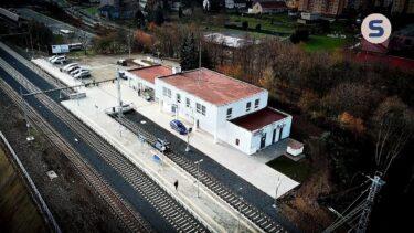 SKANSKA – Elektrizace trati Kadaň Prunéřov – Kadaň