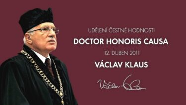 Václav Klaus – Doctor honoris causa