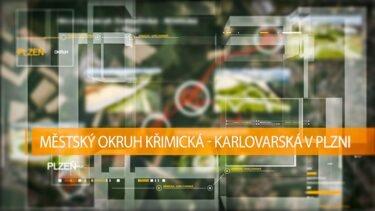 Animace: Městský okruh Křimická – Karlovarská vPlzni | AVIDIS