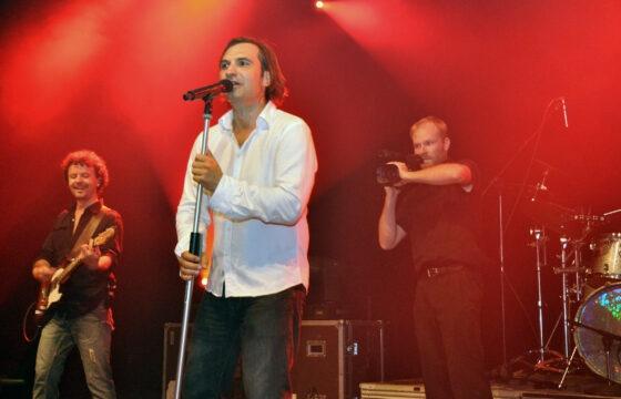 Natáčení koncertu skupiny Mig 21 v čele s Jiřím Macháčkem. | AVIDIS
