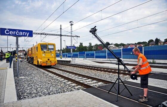 Natáčení propagačního odborného videa o frézování kolejnic. Využití kamerového jeřábu. | AVIDIS