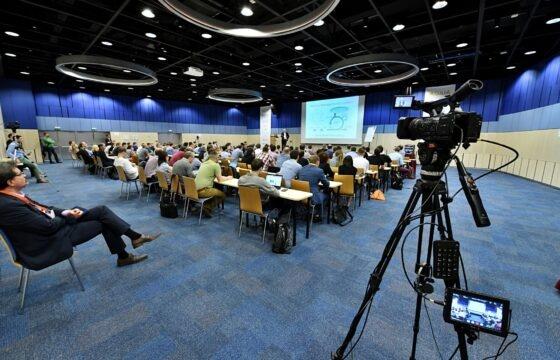Natáčení mezinárodní konference Agilia v hotelu Clarion Olomouc. | AVIDIS